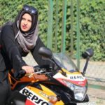 hijab biker girl roshni misbah, theinterview.in