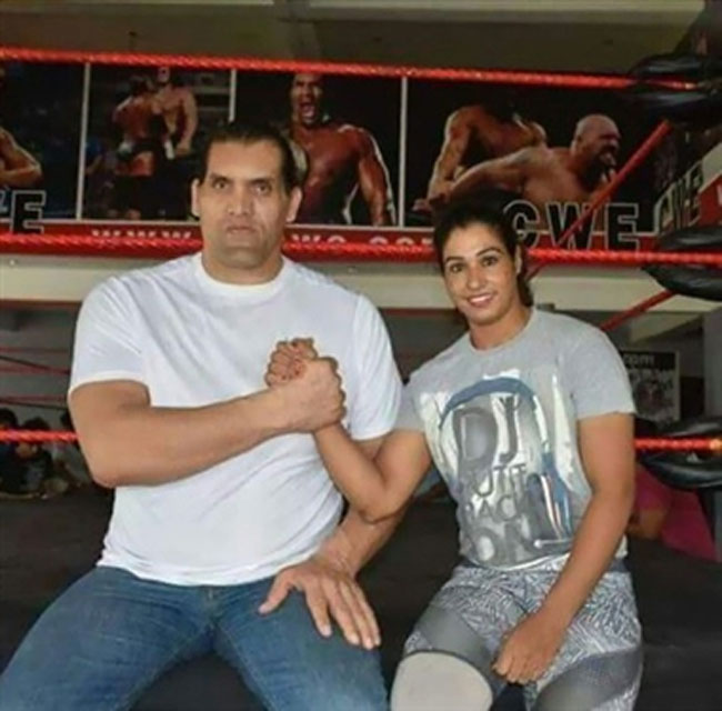 wrestler kavita dalal, theinterview.in