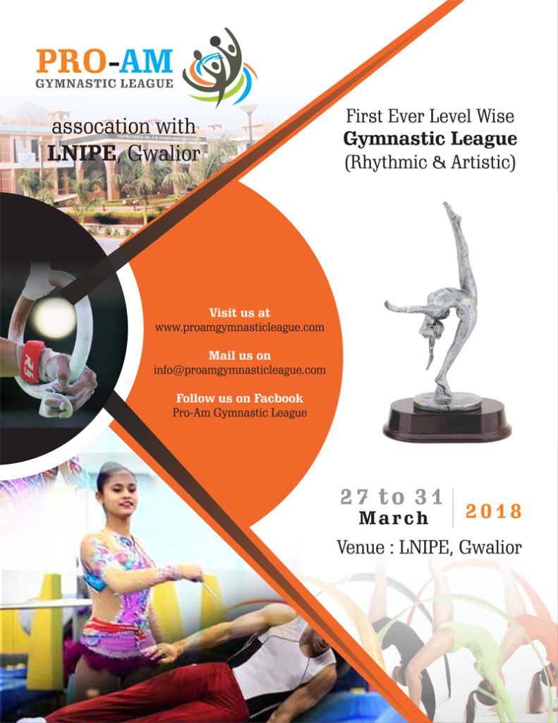 education news/ indias first gymnast league start from 27 march in lnipe gwalior, theinterview.in